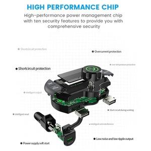 Image 3 - G21 QC3.0 כפולה USB יציאות מטען לרכב DAB מקלט Mp3 נגן Bluetooth אלחוטי דיבורית שיחת FM משדר רכב ערכת