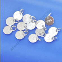 Promotion 100 Pcs Jewelry Accessories Top Quality 925 Sterling Silver Local  for Factory Price Hot Sale