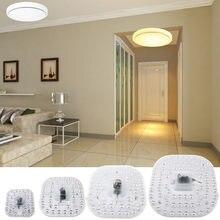 12W 18W 24W 36W LED Panel Downlight 5730SMD superficie montada LED luminares blanco cálido blanco natural Puro Blanco lámpara AC165-265V