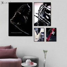 Predator Killer Black Movie Figure Wall Art Canvas Painting Poster For Home Decor Posters And Prints Unframed Decorative Picture predator movie figure artwork posters and prints wall art decorative picture canvas painting for living room home decor unframed
