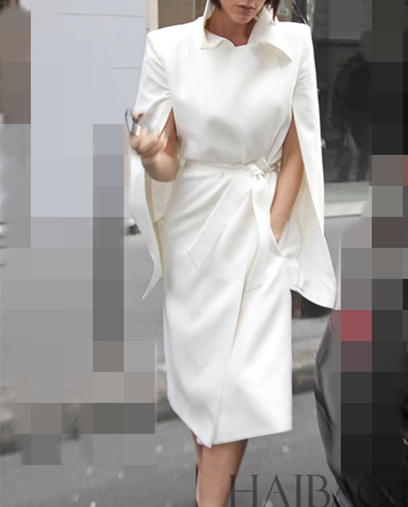 Online Buy Wholesale long white wool coat from China long white