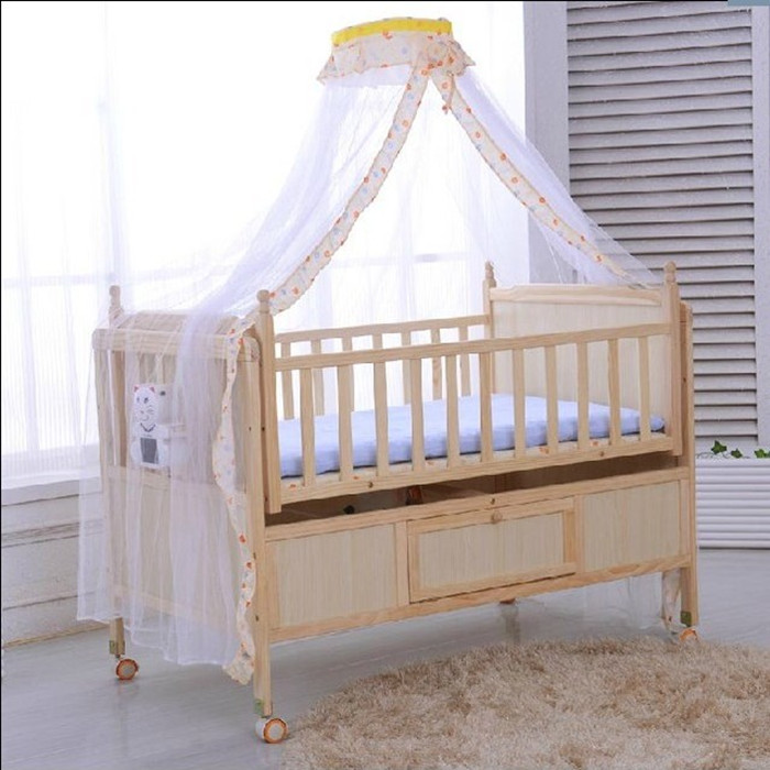 intelligent automatic baby cradle bed electric electric crib bed real wood multi function baby. Black Bedroom Furniture Sets. Home Design Ideas