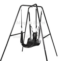 Sex Furnitures Two Layers Leather Sling Sex Hammock Swing Chair Leather bed Hammock And Pillow Adult Games Sex Toys For Couples