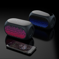 Cross border exclusive for new hifi audio mini 7 color lamp wireless Bluetooth speaker portable card Bluetooth audio