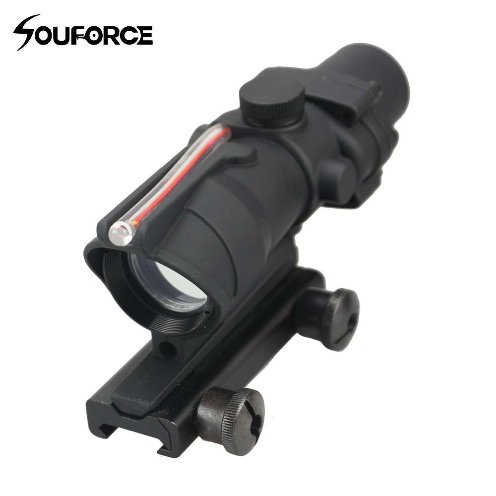 New Tactical 1X30 Optics Sight Optical Scope Single Point Dotted line Waterproof and Fog Riflescope for Airsoft Hunting Rifle