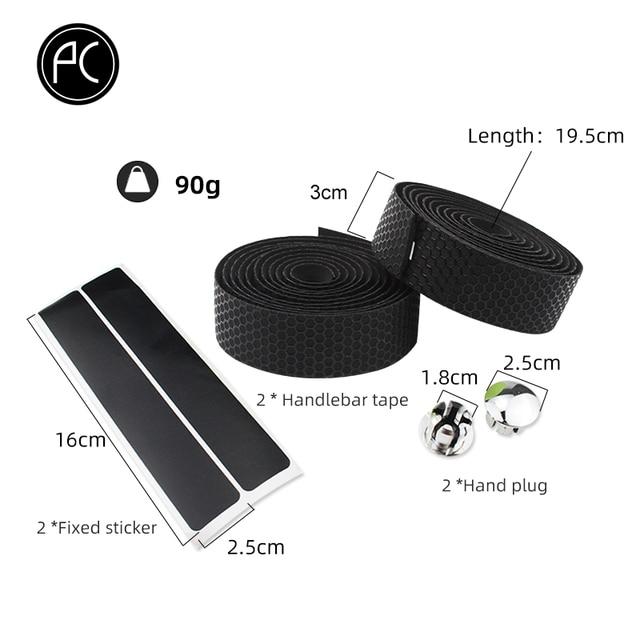 PCycling Bicycle Handlebar Tape Road Bike Handlebar Non-slip Sweat-absorbent Bike Belt Honeycomb Pattern Cycling Accessories 3