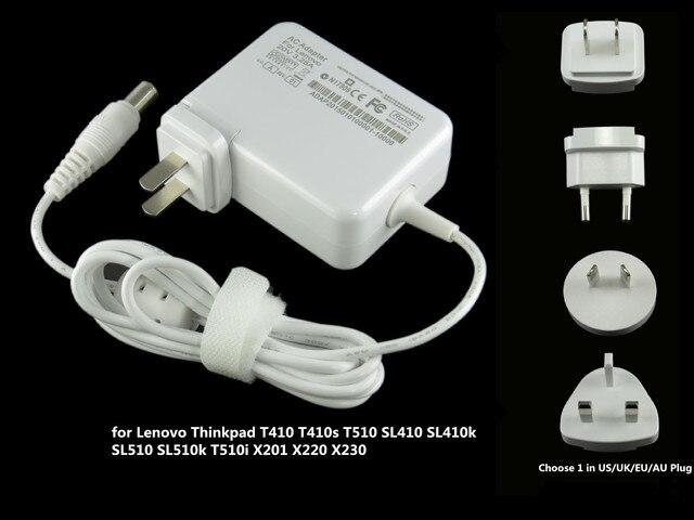 65 w laptop ac power adapter para lenovo thinkpad t410 t410s T510 Sl410 Sl510 Sl410K Sl510K T510I X201 X220 X230 20 V 3.25A