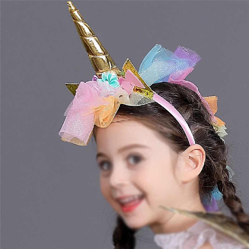 Disfraces mágicos del caballo del arco iris de los niños 4-12Y niñas unicornio vestido de lujo con las alas del aro del pelo Arco Iris lentejuelas tutú vestido de fiesta