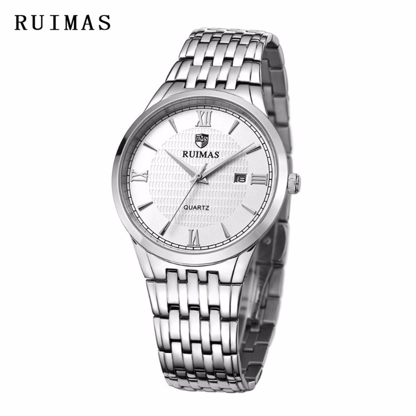 c6a5d4b2366 RUIMAS Luxury Brand Men Quartz Watch Low Price HighQuality Wristwatch  Relogio Masculino Gentle Casual Clock Erkek Kol Saati Gift