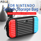 PZOZ For Nintendo Switch Protection Bag Game Console Storage Package Travel Carrying Holder Pouch Built-in Game Box Handbag Case
