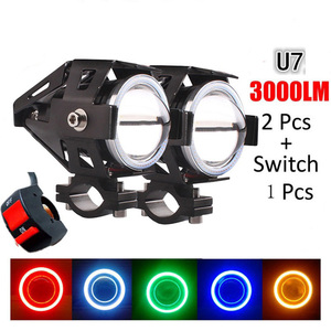 1PCS 12V/125W Motorcycle LED H