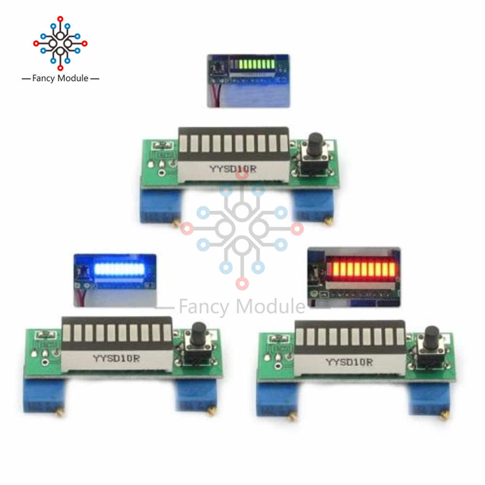 Detail Feedback Questions About Ka2284 Audio Level Meter Circuit Electronic Production Project Diy Suite Kits Module Board Lm3914 Display 37v Lithium Battery Capacity Indicator Led Power