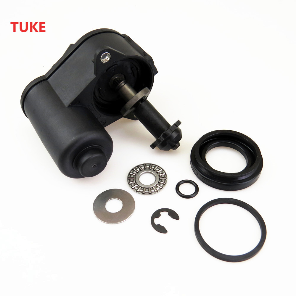 TUKE 1 Set Car Hand Brake Servo Caliper Motor & Screw Repair Kit For VW TIGUAN SHARAN PASSAT B6 B7 CC 32332267 3C0 998 281 A 6 set rear brake motor screw combination kit for vw passat cc b6 b7 tiguan sharan a4 a5 sportback a6 q3 q5 s5 coupe 32326315