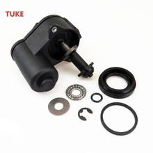TUKE 1 Conjunto Pinça de Freio de Mão Do Carro Servo Motor & Parafuso Kit de Reparação para VW SHARAN TIGUAN PASSAT B6 B7 CC 32332267 3C0 998 281 A