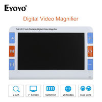 Eyoyo RS700 7Screen 1024*600 Portable Digital Video Magnifier Low Vision Reading Aid 2X 32X Dual Lens 4Mega Pixel 26 Color Mode