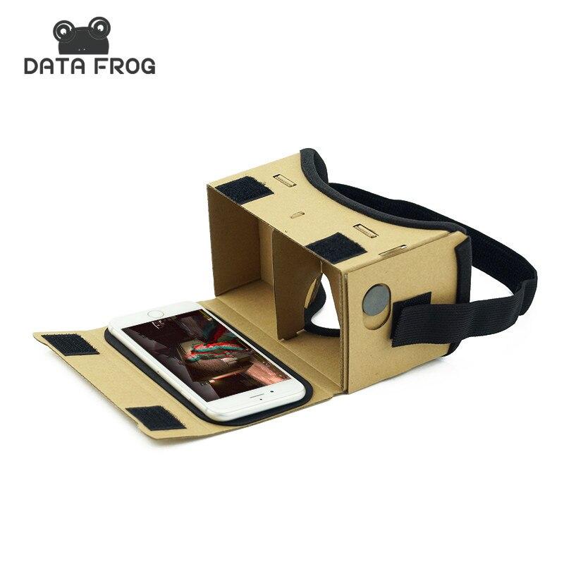 Virtual Reality <font><b>Glasses</b></font> Google Cardboard <font><b>Glasses</b></font> 3D <font><b>Glasses</b></font> VR Box Movies <font><b>for</b></font> <font><b>iPhone</b></font> <font><b>5</b></font> 6 7 SmartPhones VR Headset