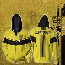 Ravenclaw Gryffindor Hufflepuff Slytherin Wizardry 3D Printed Hoodie Harajuku Unisex Men Hoodies Clothes Streetwear
