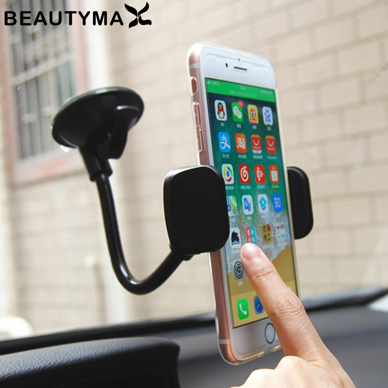 Windshield Car Holder Car Phone Holder 360 Rotatable Stand Mount Car Phone Holder Accessories GPS Display Support Bracket