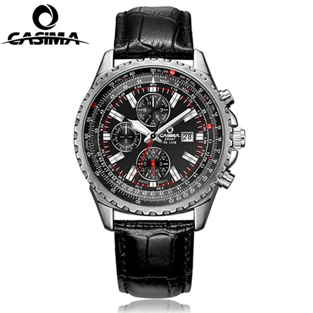 CASIMA Luxury Brand Men Watch montre homme Men Bussiness Quartz watches reloj hombre Sport Waterproof Watch Men relogio luxury brand casima men watch reloj hombre military sport quartz wristwatch waterproof watches men reloj hombre relogio
