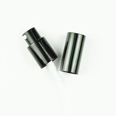 US $4 52 8% OFF|5pcs/lot 18/410 Essential Oil Bottles Black/gold/silver  atomized aluminum spray nozzle emulsion pump lotion pump press bottle-in