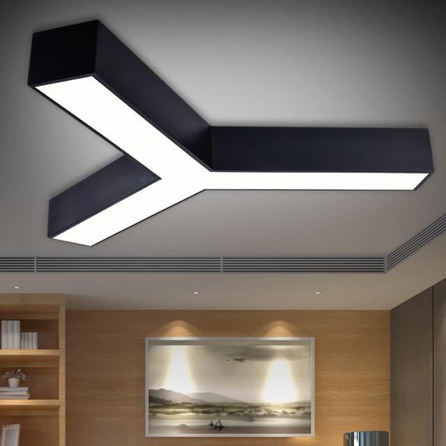 Fashion Led Pendant Light Y Shape Office Lamp Study Room Restaurant Lighting Fixtures