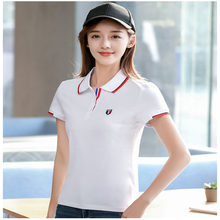 Summe fashion lovers polo shirt offer Womens Short Cotton Gift Simple Style Sleeve couple Shirt Colorful Brand Sale 2019 new