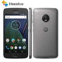 Оригинальный разблокированная Motorola Moto G Plus (5th Gen) G5 XT1687 32 ГБ GSM и CDMA 4G LTE Android смартфон Восстановленный разблокированный телефон