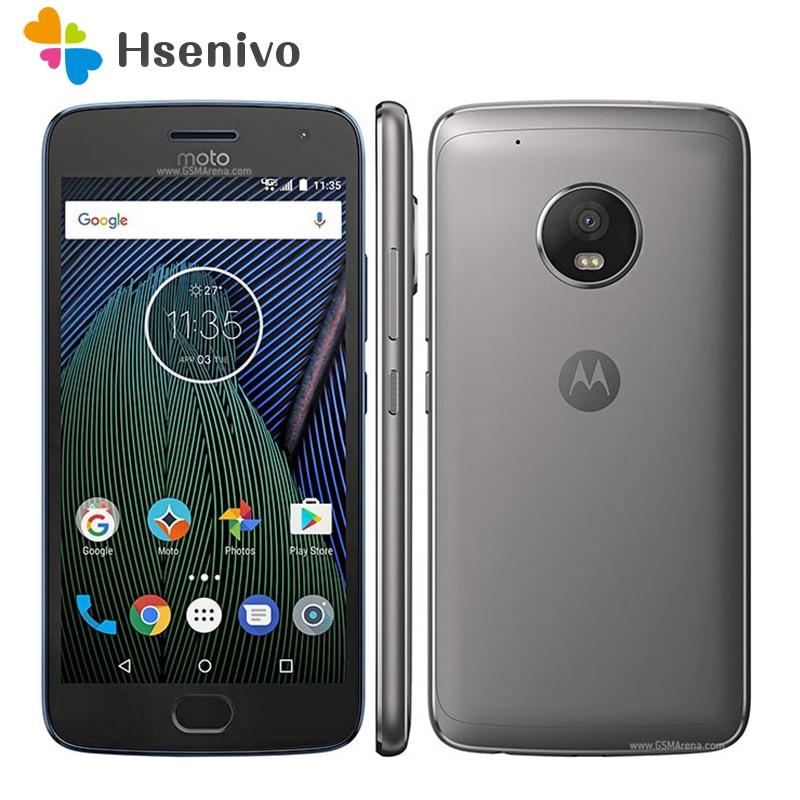 US $248 04 5% OFF|Original Unlocked Motorola Moto G Plus (5th Gen) G5  XT1687 32GB GSM CDMA 4G LTE Android Smartphone Unlocked phone  refurbished-in