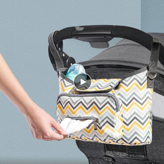 New Baby Strollers Organizer Pram Buggy Cart Hanging Bag Yoya Waterproof Mummy Diaper Bag Stroller Accessories Baby Bags For Mom