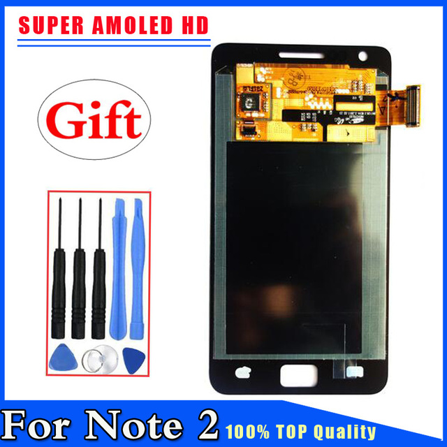For Samsung Galaxy SII S2 i9100 Super AMOLED LCD Display Touch Screen Digitizer Free Shipping