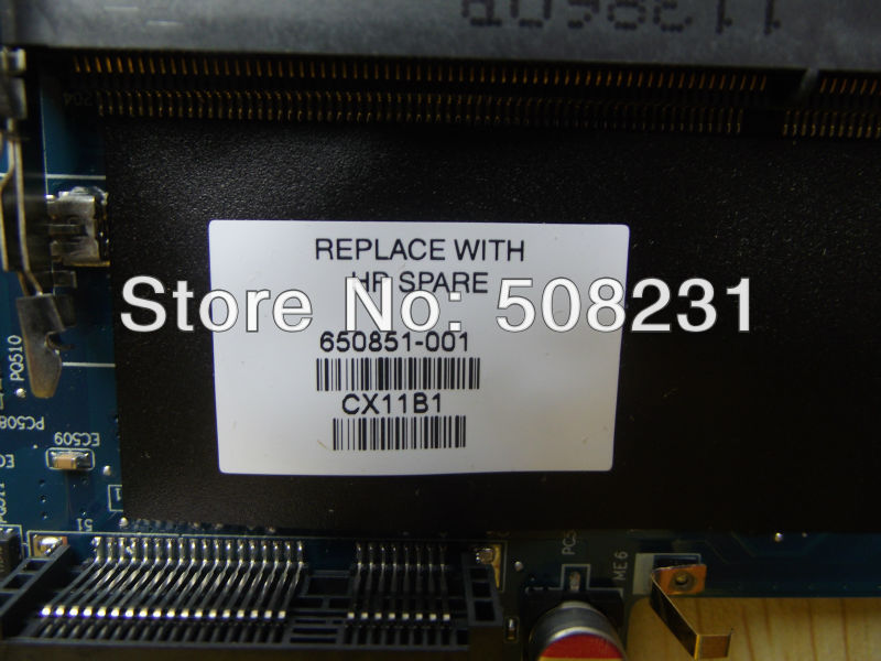 ФОТО 650851-001 Laptop Motherboard for HP DV6 DV6-6000, 100% Tested and guaranteed in good working condition!!