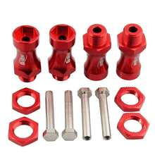 RC Rood Wiel Hex Driver 12mm Turn 17mm Hex Adapter 30mm Extension Voor Truck(China)