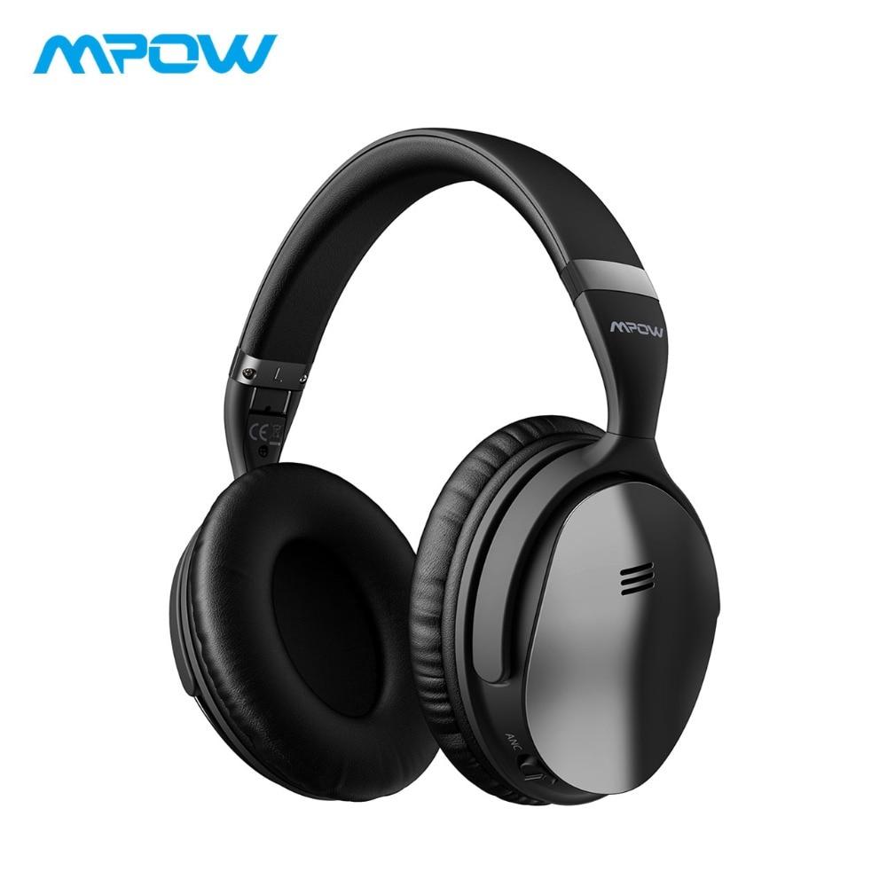 2019 Mpow H5 casque antibruit actif sur l'oreille HiFi stéréo sans fil Bluetooth casque avec Microphone et sac de transport