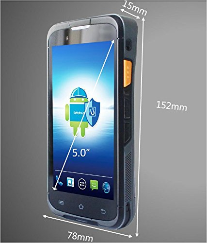 5 Panel Ultra Rugged Pda Handheld 4g Data Terminal Mobile Computer With 1d 2d Barcode Scanner Camera Nfc Bluetoth Wifi In Scanners From Office