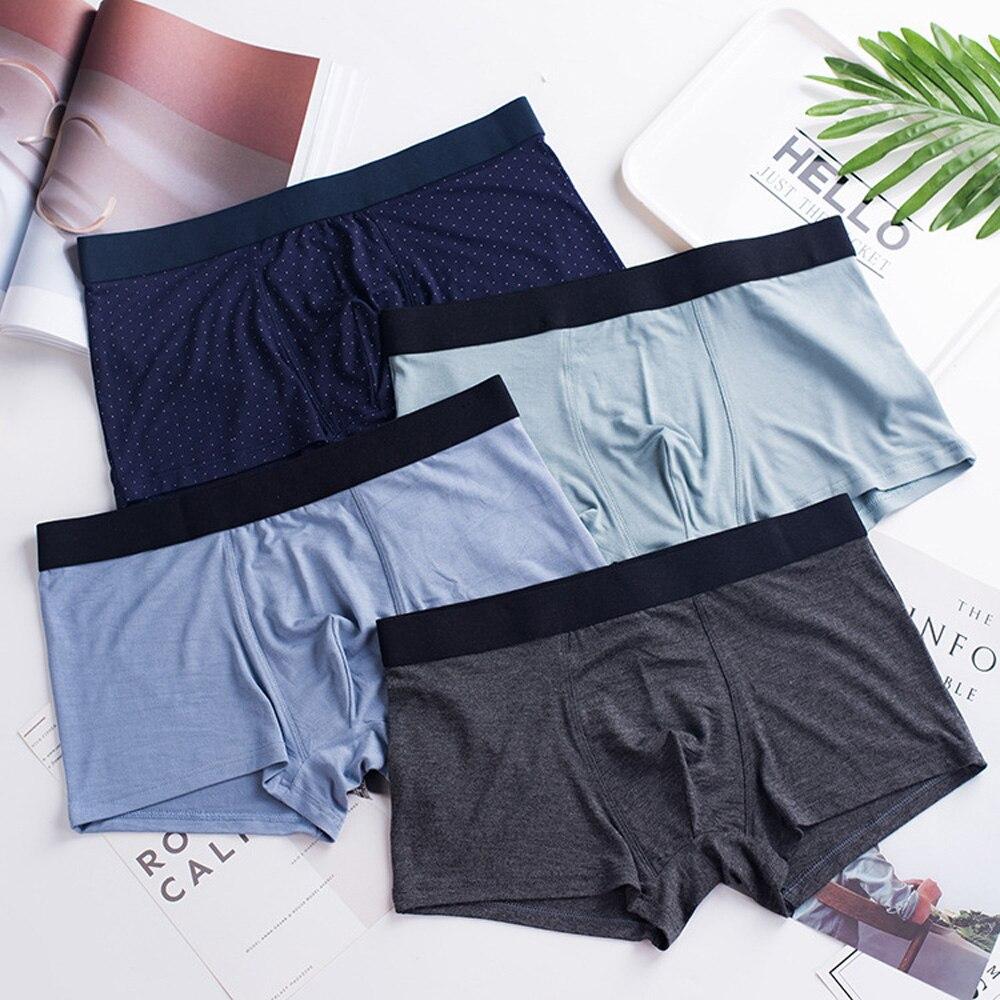 La MaxPa offre spéciale solide/Floral Dot classique bambou hommes sous-vêtements Boxer Sexy sous-vêtements Boxer sous-vêtements pour homme Shorts k285