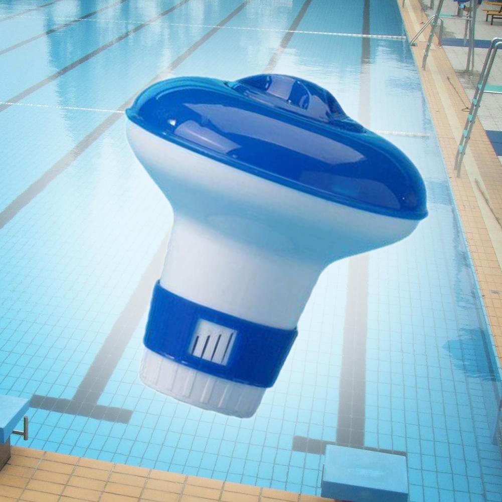 Swimming Pool Hot Tub Floating Chlorine Chemical Tablet Dispenser Distributor