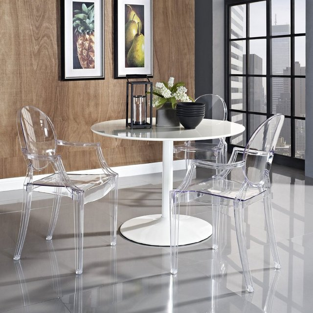 Ghost Chair Devil Ghost Chair Lounge Chair Creative Fashion Designer Dining  Chairs Plastic Specials Home