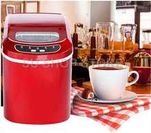 12kgs/24H Portable Automatic ice Maker, Household bullet round make machine for family, bar,coffee shop