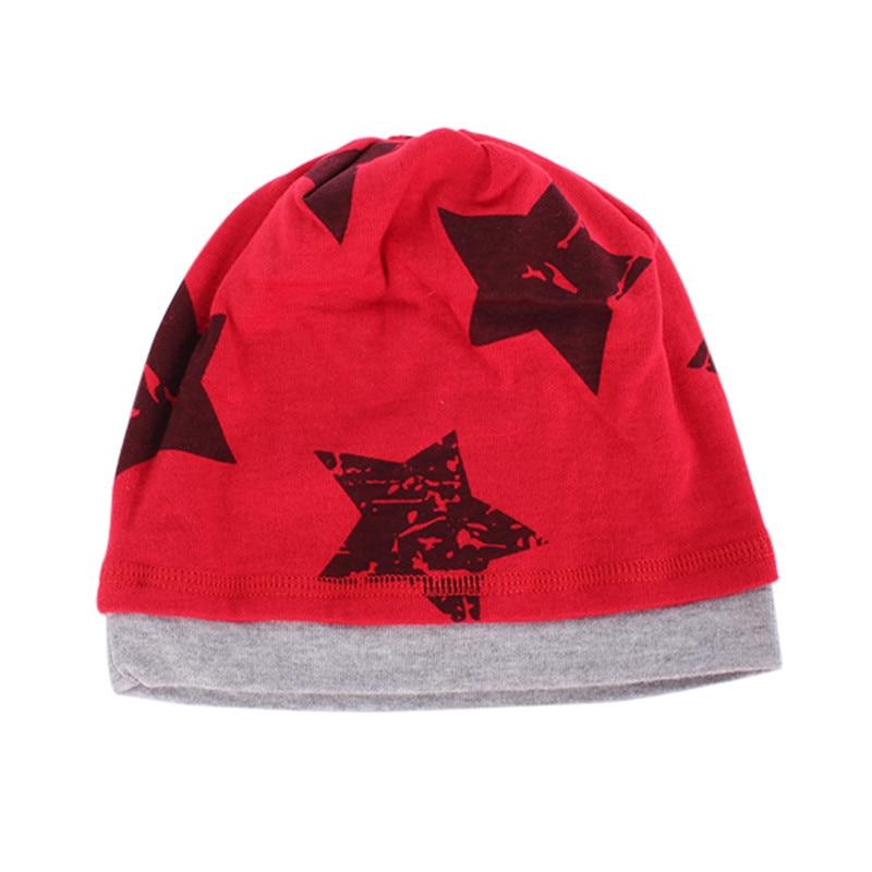 Brand New 5 Colors Unisex Boys Kids Hats Baby Beanie Hat Cartoon Pentagram Cap маска selective professional powerplex mask
