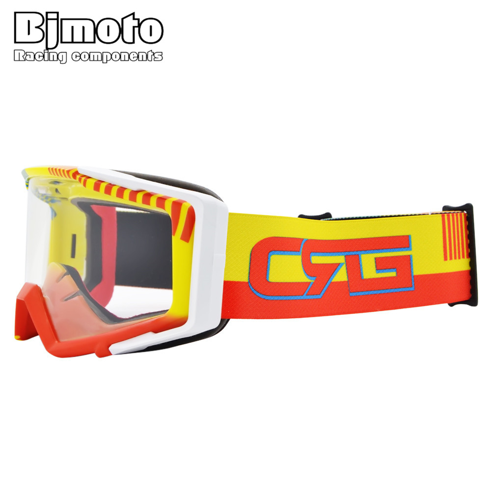 Motocross Goggles Glasses with Clear Lens Oculos Cycling MX Off Road Ski Sport Gafas For Motorcycle