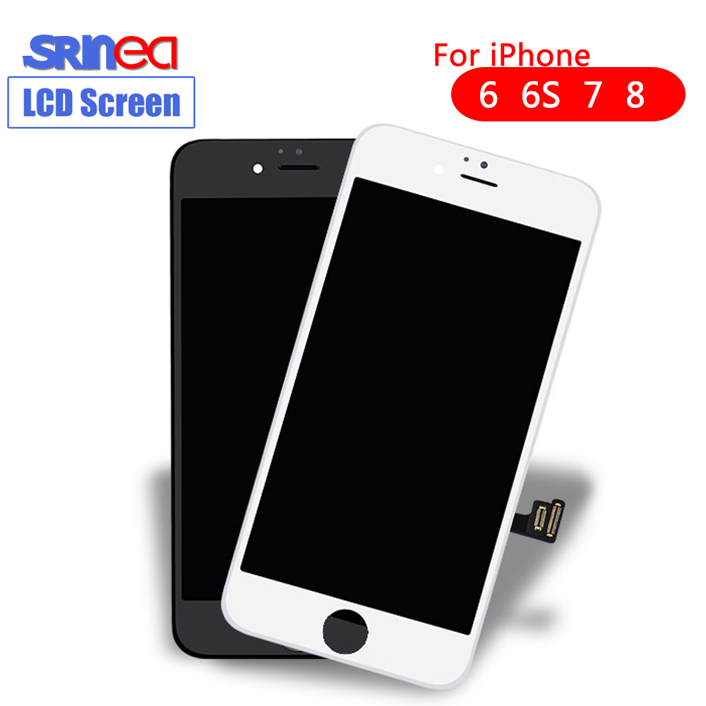 3D Touch Grade AAA For Iphone 7 LCD 4.7 Inch Screen Diaplay LCD Touch 100% Tested No Dead Pixel For Iphone 6G 6S 8 6 S LCD