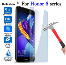 Protective Glass For Huawei Honor 6C Pro Screen Protector For Huawei Honor 6A 6X 6 6C Pro Huwei Tempered Glass Cover Film protective glass red line for huawei honor 6c pro full screen 3d white