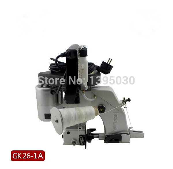 220V Portable Sewing Machine Automatic Oiling Woven Bag Packing Machine For Woven bag/Snakeskin bag GK26-1A PP woven sack closer  1pc gk9 018 automatic tangent tool single needle thread chain stitch portable bag woven sewing machine