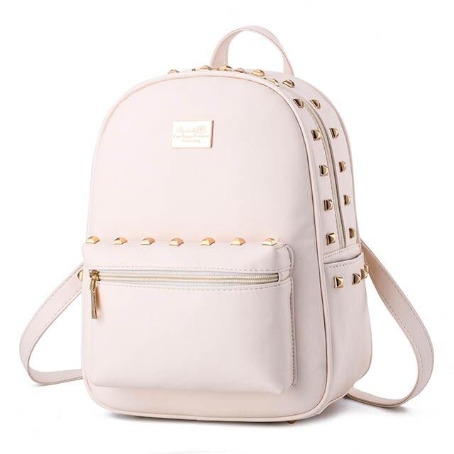 e885599da0 Korean Style Small Women Backpack Famous Designer Female Backpack ...
