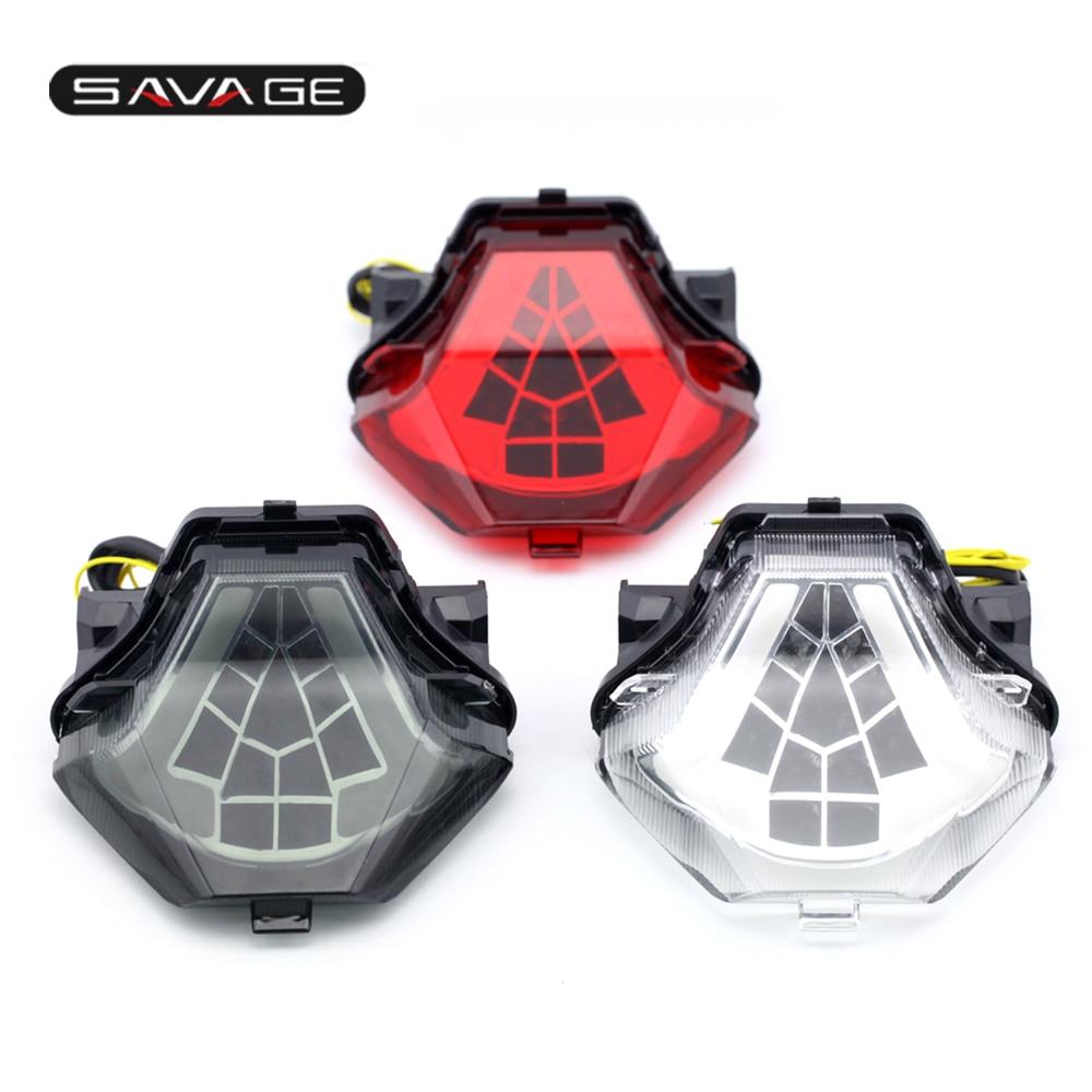 Feu arrière pour YAMAHA MT 07 MT07 FZ 07 MT 25 MT 03 YZF R3 R25 accessoires de moto LED intégré clignotant
