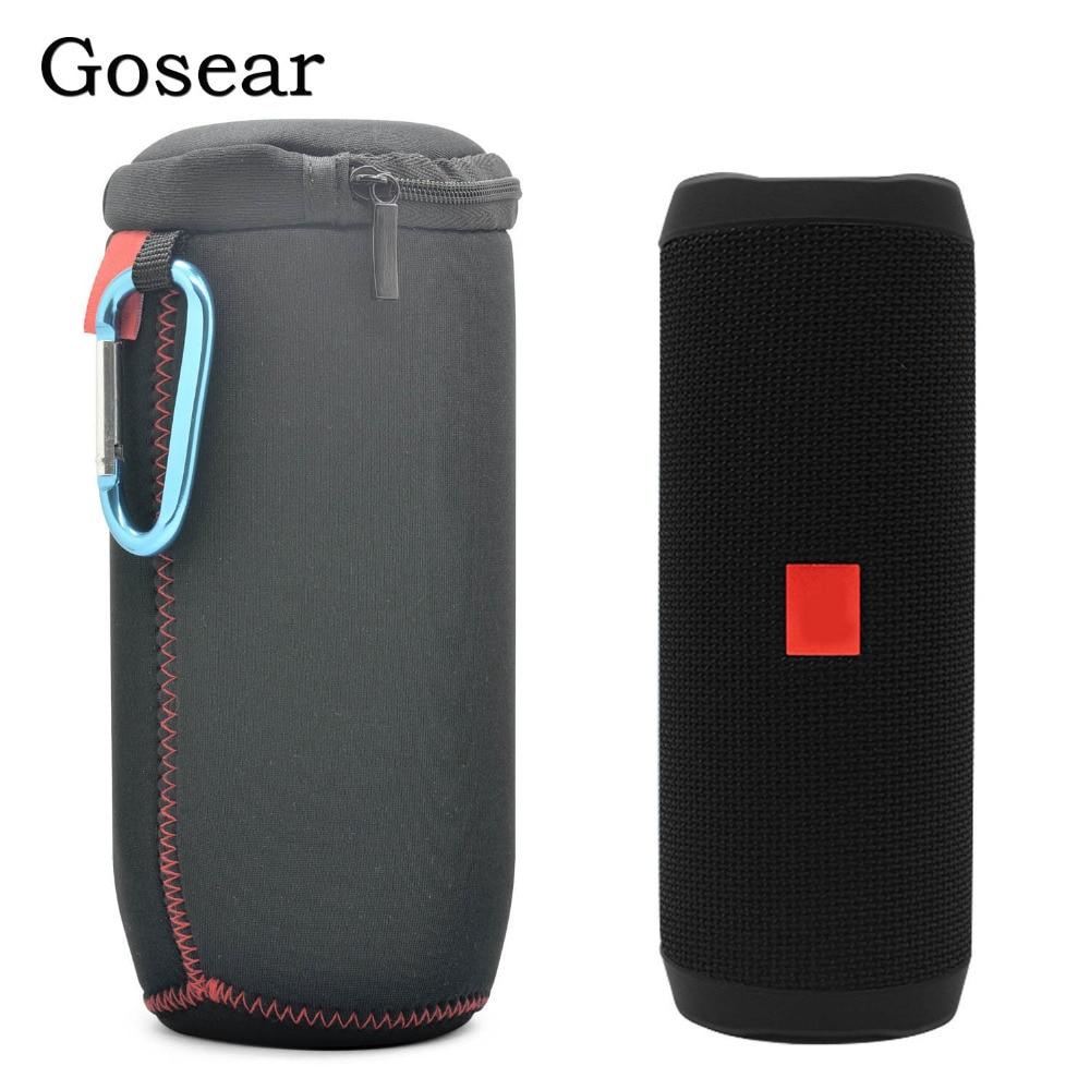 Gosear, estuche de almacenamiento suave para viaje, bolsa de almacenamiento protectora para J BL Flip 4 JBL Flip4, accesorios para altavoces Bluetooth Accesorios de altavoces    - AliExpress