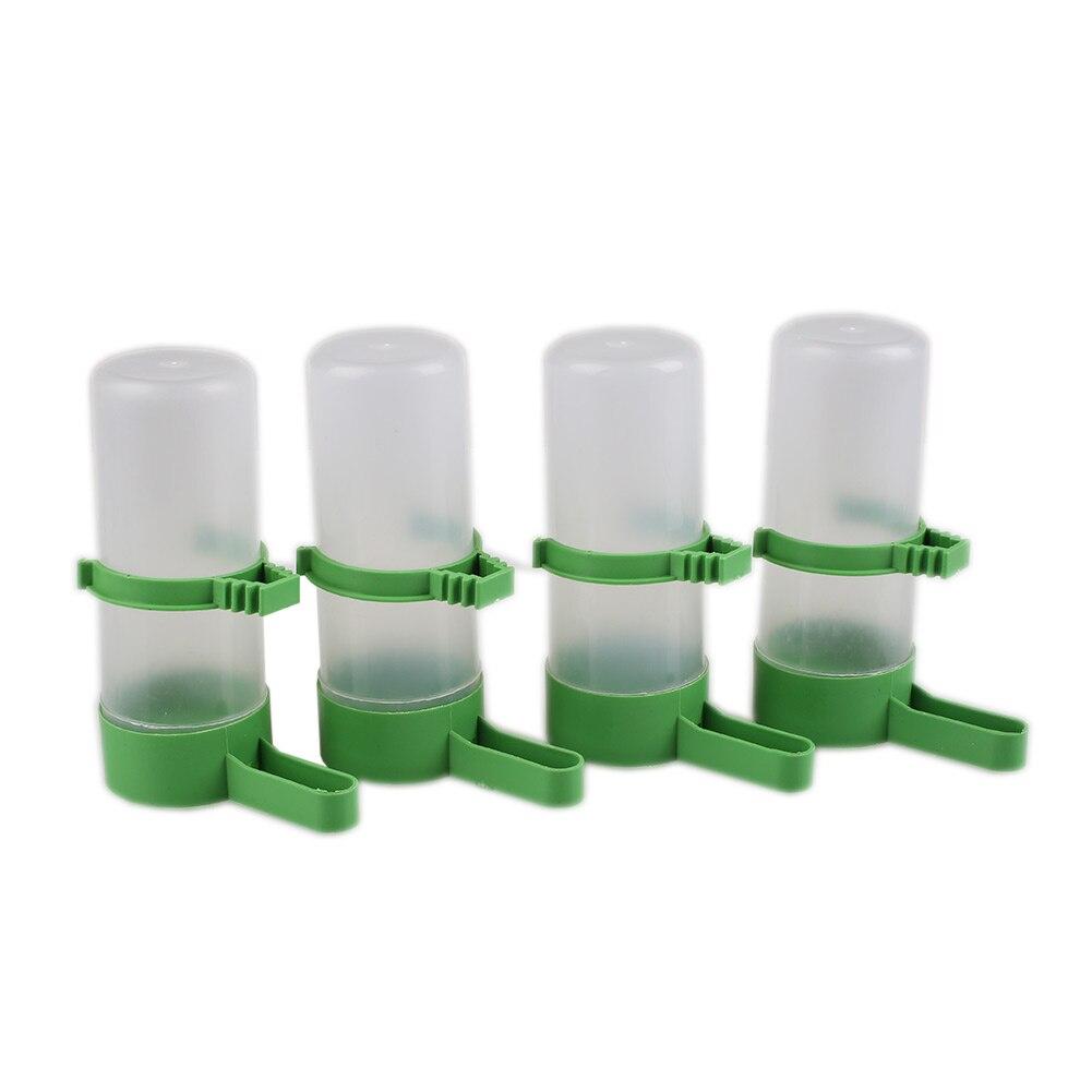 4 шт. кормушка для птиц бутылка для питьевой воды с зажимом для Lovebirds клетка для птиц
