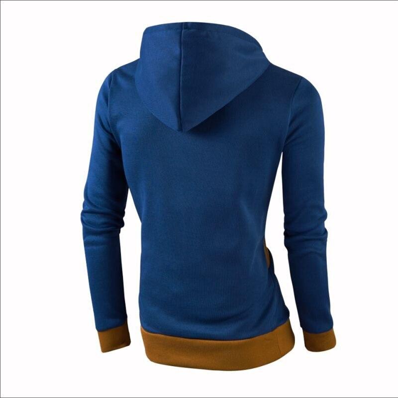 2018 Brands Hooded Men Hip Hop hoodie Jogges MenS Hoodies Color Stitching Sweatshirts MenS Casual Slim Hoodies Sweatshirts