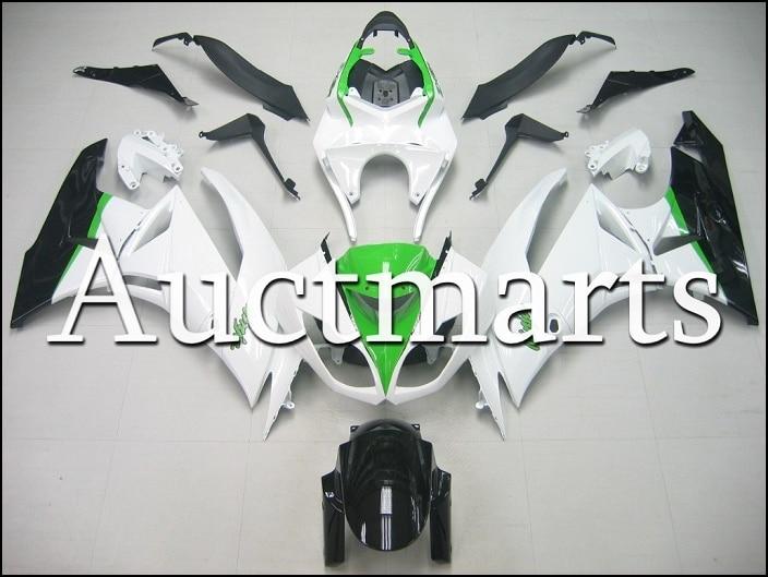 For kawasaki ZX-6R 2009 2010 2011 2012  high quality  ABS Plastic motorcycle Fairing Kit Bodywork  ZX6R 09 10 11 12 ZX 6R CB08