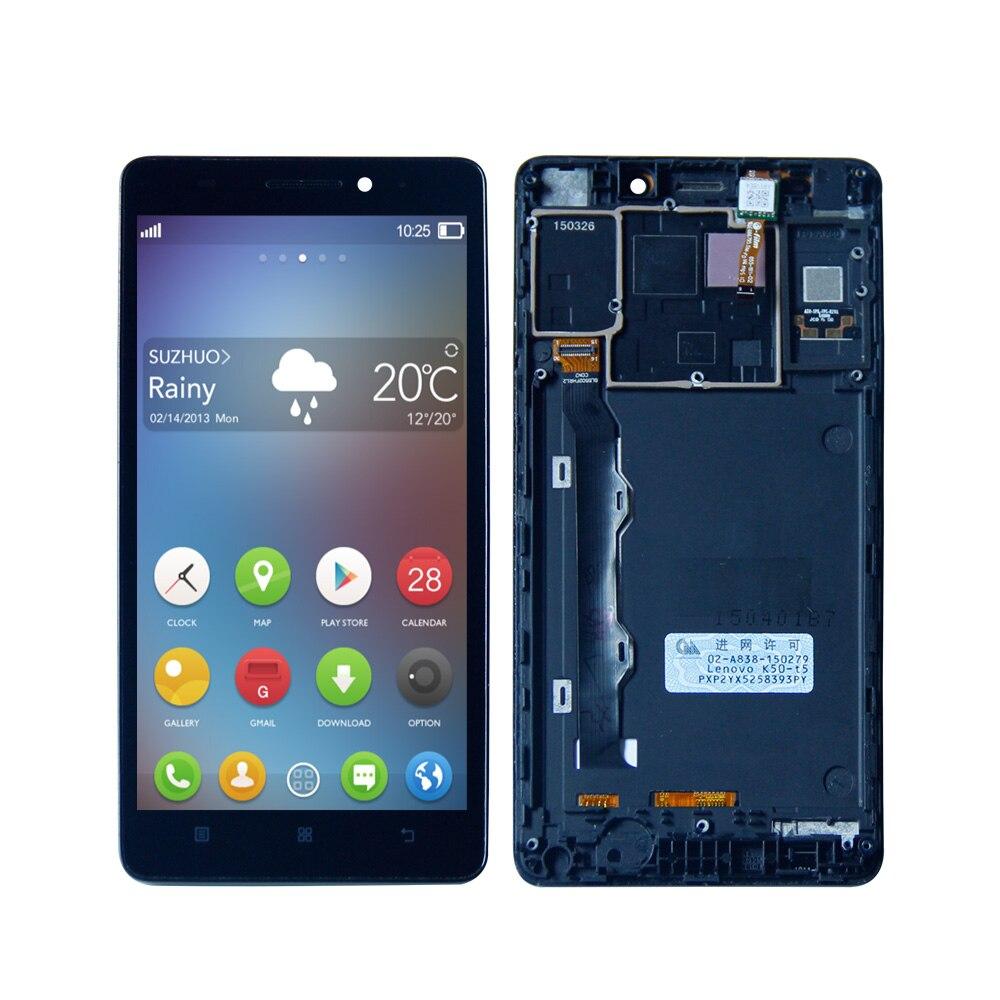 For Lenovo K50 K3 Note K50T LCD Display Digitizer Touch Screen assembly+FrameFor Lenovo K50 K3 Note K50T LCD Display Digitizer Touch Screen assembly+Frame